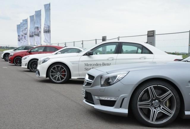 """Noile modele Mercedes-Benz, GLA şi Clasa C, au fost staruri în cadrul evenimentului """"Roadshow Star Experience"""""""