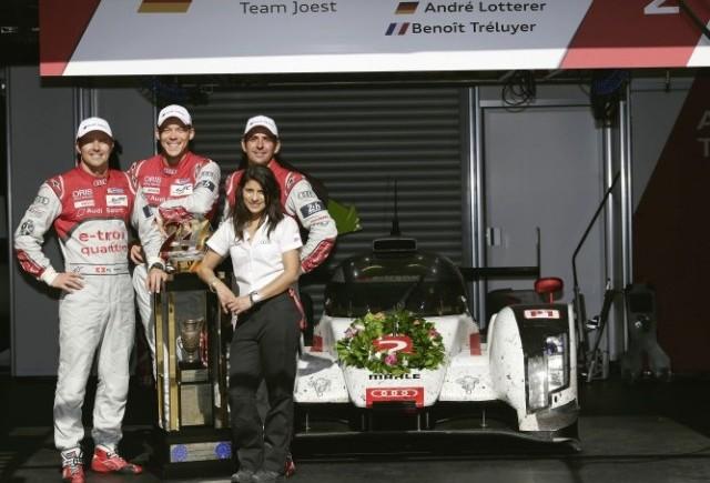 Date despre a treisprezecea victorie Audi la Le Mans