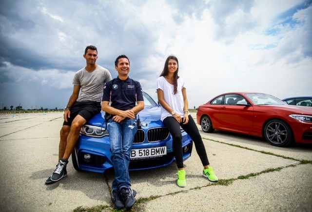 Parteneriat de imagine între BMW România şi Sorana Cîrstea, Horia Tecău şi Adelin Petrişor