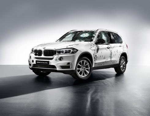 Noul model blindat BMW X5 Security Plus