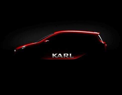 Opel prezintă modelul KARL