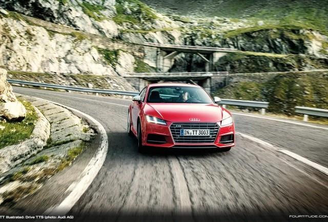 TT Illustrated: fotografii cu noul Audi TT în România