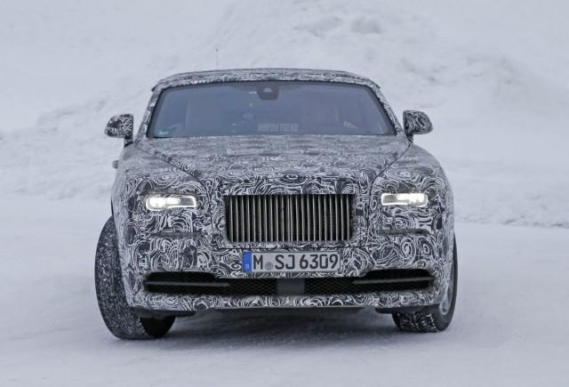 Rolls-Royce Wraith Drophead, imagini spion
