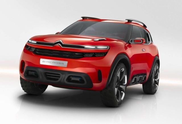 Noul concept Citroen Aircross