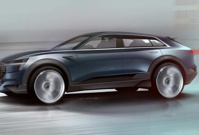 CONCEPT: Audi e-tron quattro la IAA 2015