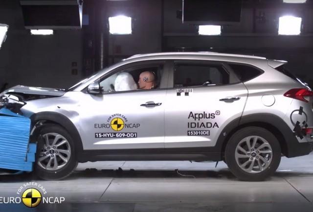 Hyundai Tucson a obținut 5 stele la testele Euro NCAP