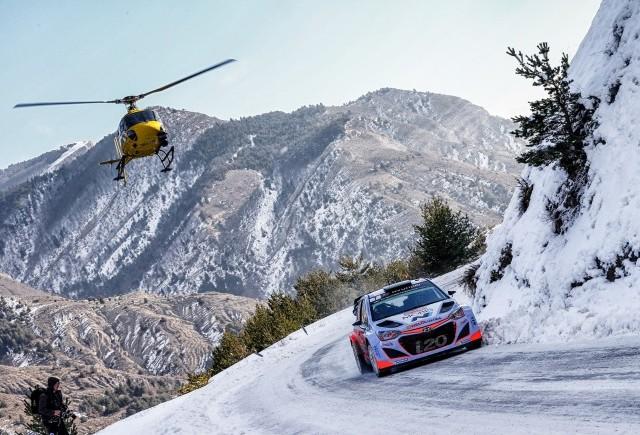 Noua generație i20 WRC la Raliul Monte-Carlo