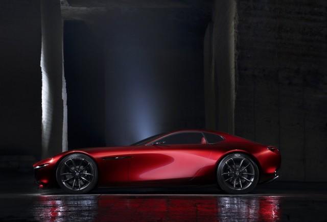 Mazda RX-VISION, cea mai frumoasă maşină concept
