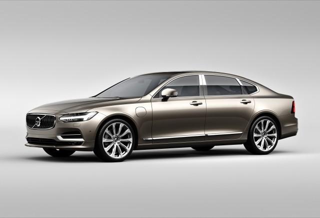 Volvo S90: versiune restilizată și echipare de lux S90 Excellence