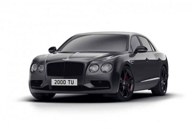 Bentley prezintă noul Flying Spur V8 S Black Edition
