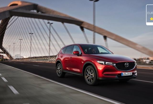 Noua Mazda CX-5 a obținut 5 stele la testele de siguranţă Euro NCAP