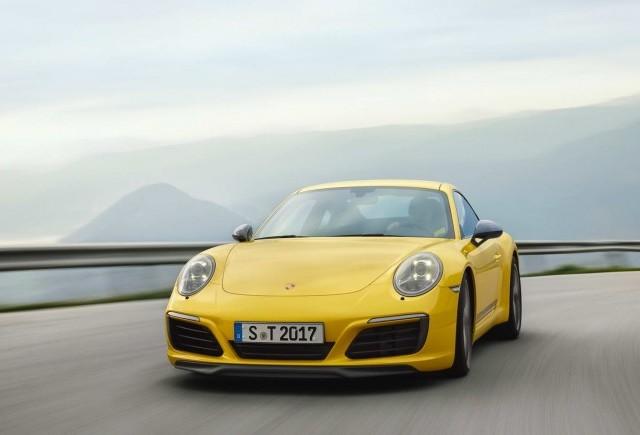 Porsche lanseaza noul 911 Carrera T