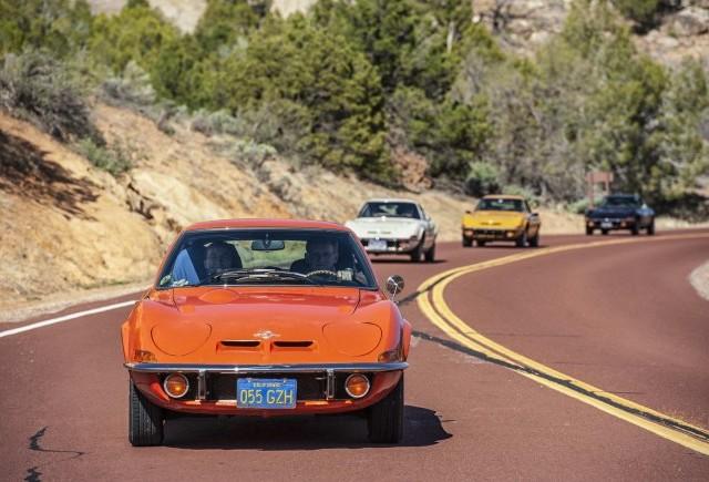 50 de ani de Opel GT: tur aniversar pe legendara Route 66