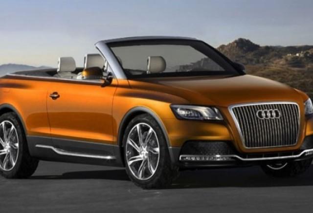 Conceptul Audi Cross Cabriolet quattro