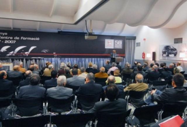 Centrul de formare profesionala SEAT aniverseaza 50 de ani.