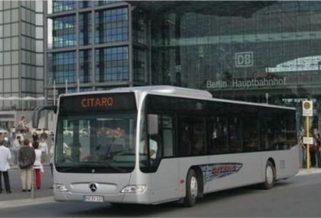 Noul autobuz Mercedes Citaro, din noul lot pentru RATB, costa 210.000 euro