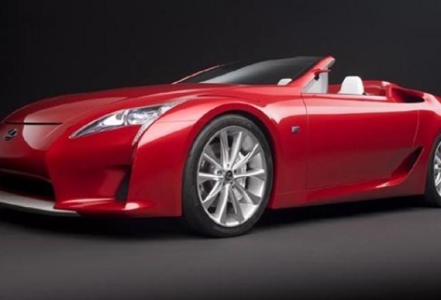 Lexus LF-A Roadster - Copilul Elegantei si al Performantei
