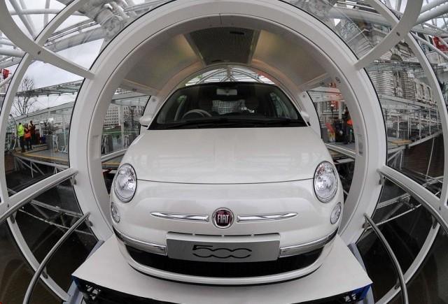 Fiat 500 in lume
