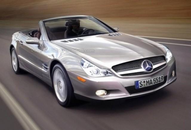 Mercedes SL - noua SiLueta