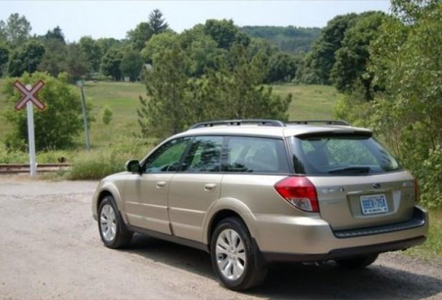 Subaru Outback – Lux en-gros!