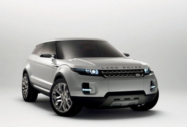 Land Rover LRX - Micul bolid