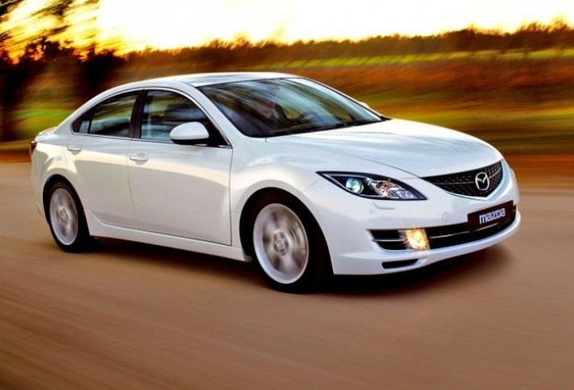 Mazda si-a propus sa vanda 320 de automobile Mazda6 Diesel in Romania, in 2008