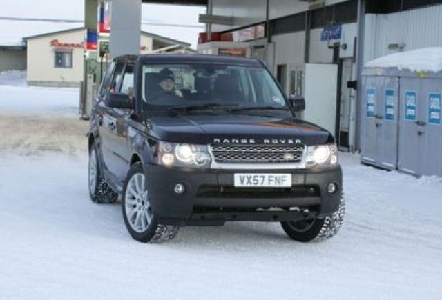 Range Rover Sport - Priviri pe furis