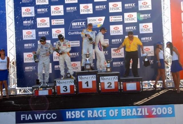 SEAT INCEPE SEZONUL DE WTCC 2008 CU DOUA VICTORII IN BRAZILIA