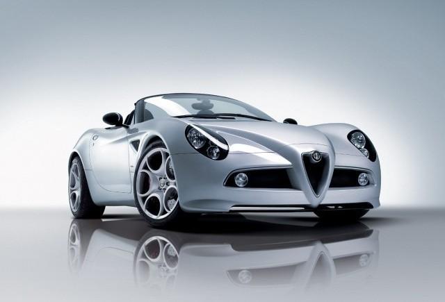Alfa Romeo 8C Spider - Te prinde in plasa sa!