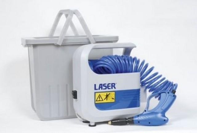 Laser Pressure Washer - Curatenia portabila!