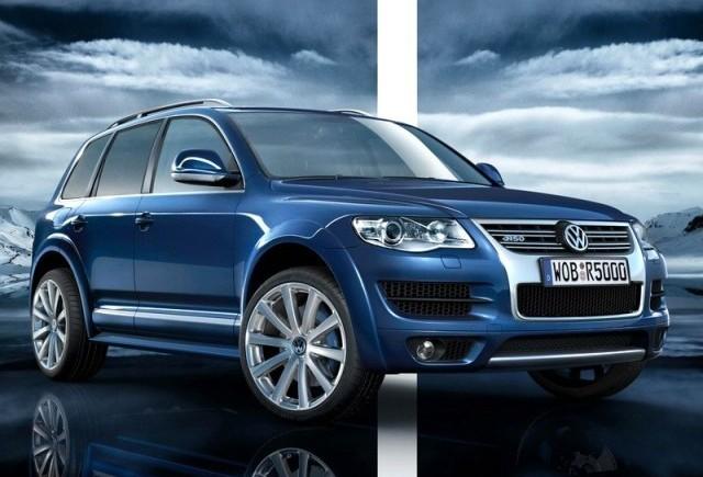 Volkswagen Touareg R50 - Performanta la scara mare