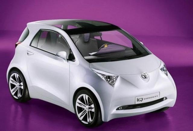 Toyota iQ - Nu judecati dupa aparente!