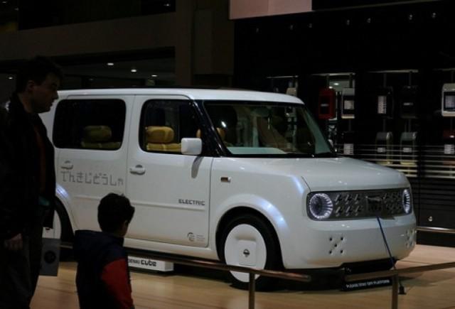 Nissan Cube - Ruta electrica!