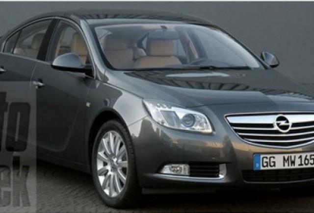 Primele imagini cu Opel Insignia 2009