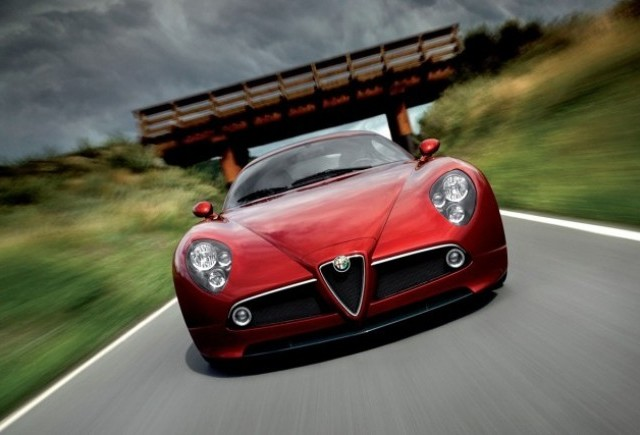 Alfa 8C Competitzione - Supermasina italiana