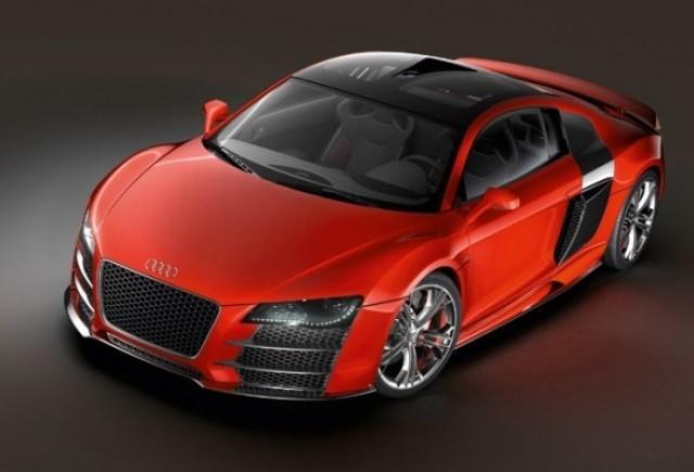 Audi RS8 - O motorizare feroce