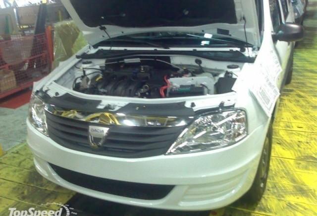 Dacia Logan MCV facelift - poze spion
