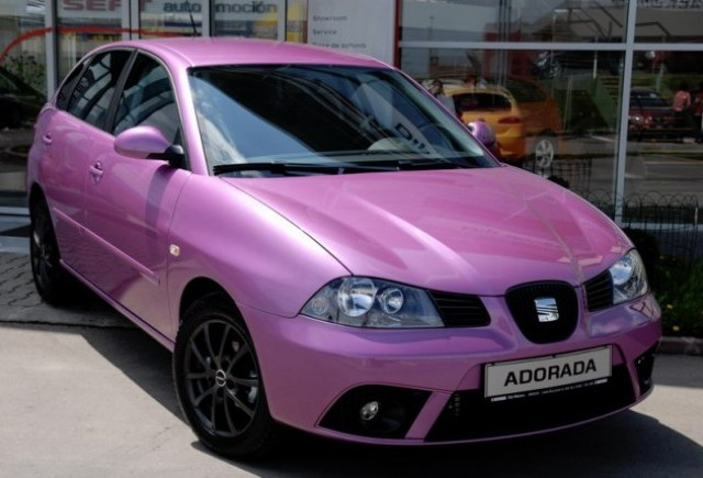 SEAT Ibiza Adorada - un autoturism unicat