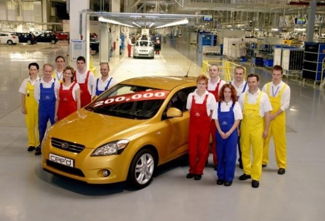 Productia de Kia cee'd a depasit 200.000 de unitati