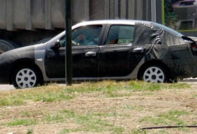 Dacia lucreaza la un nou sedan de clasa medie