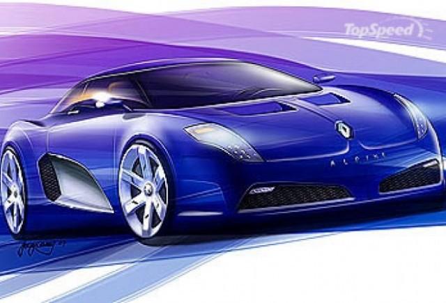 Renault Alpine se va relansa in 2011