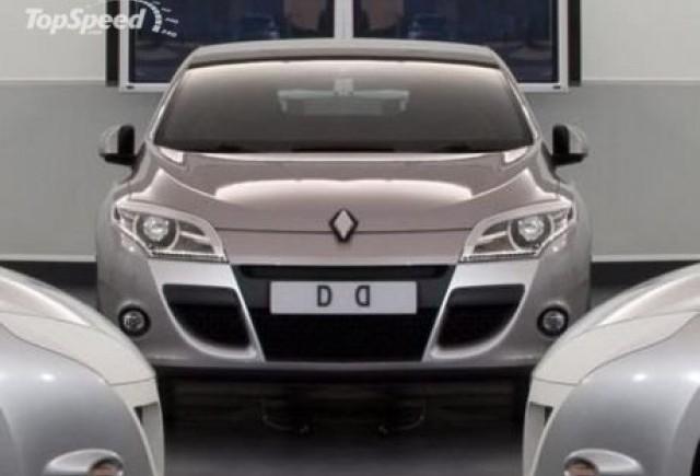 Renault Megane III - prima fotografie oficiala?
