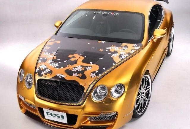 Bentley Continental primeste tratamentul de lux ASI!
