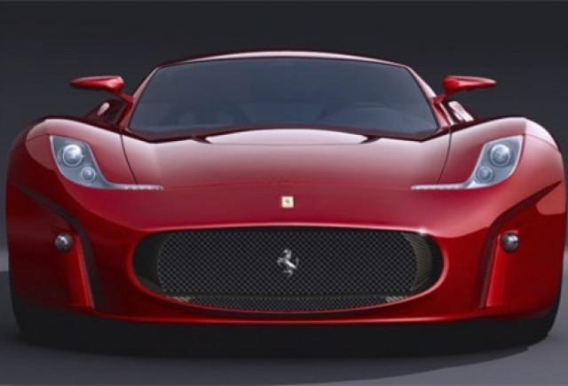Ferrari Concept 2008 - Retro modern