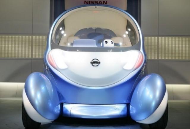 Nissan Pivo2 - Caracatita electrica