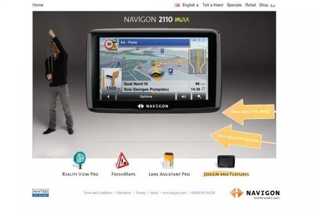 Navigon - O noua stacheta a miniaturizarii