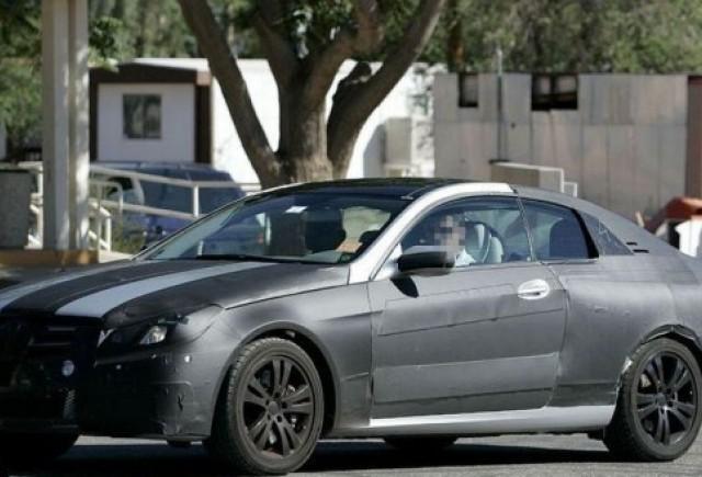 Mercedes CLK - Munca aproape de final