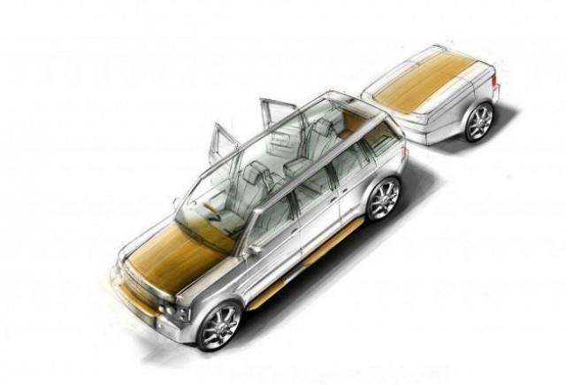 Range Rover-ul suprem porneste la drum...sau la apa?