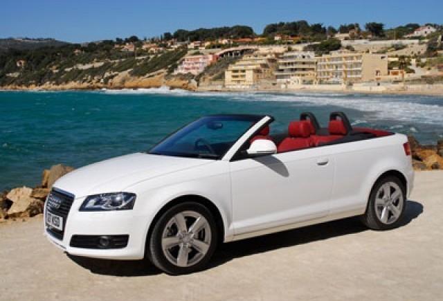 Audi A3 Cabriolet - Parcatul trivial....