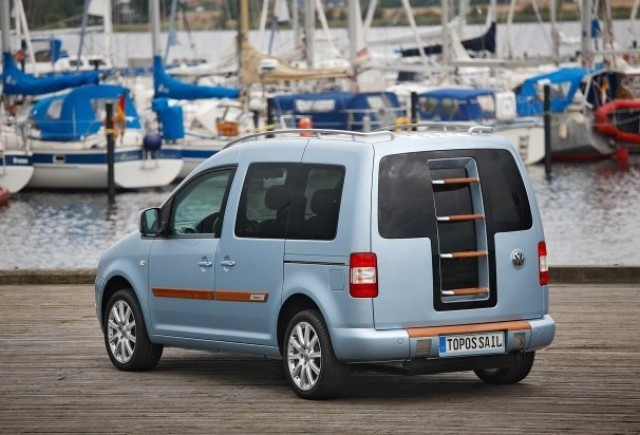 Volkswagen Caddy Topos Sail - O alta atractie nautica!